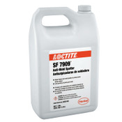 Loctite SF 7909 Anti-Weld Spatters, 1 gal, Clear, 4 EA