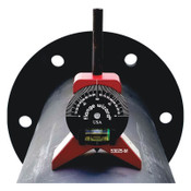 Flange Wizard Magnetic Centering Head with Vial, 1 in and Larger Pipe Capacity, Small, 1 EA