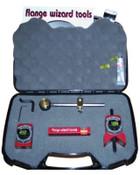 Flange Wizard Lil' Wiz Tool Kits, Repair Kit; Circle Wiz; Level; Tape Holder; Centering Head, 1 EA, #8915