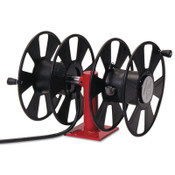 Reelcraft 250 AMP Arc Weld, Dual Weld, Side-by-Side w/out Cable Hose Reel,24ft,150ft Cable, 1 EA, #T24620
