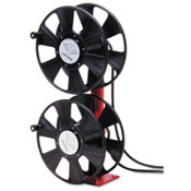Reelcraft 250 AMP Arc Weld, Dual Stacked without Cable Hose Reel, 24 ft Hose, 150 ft Cable, 1 EA, #T24640
