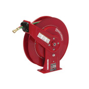 Reelcraft Gas-Welding T-Grade Hose Reels with Hose, 50 ft, Retractable, 1 EA