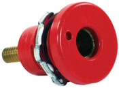 Cam-Lok F Series Connector, Female Connection, 1/0-3/0 Cap., Red, 10 EA, #E101272K