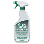 Simple Green Anti-Spatters, 32 oz Plastic Container with Spray Trigger, Clear, 1 EA