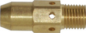 Best Welds Gas Diffusers, Brass, For Best Welds 400 Amp; Tweco No. 2 & 4 Mig Guns, 1 EA, #54A