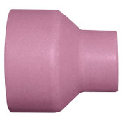 Best Welds Alumina Nozzle TIG Cups, 3/8 in, Size 6, For Torch 12, Nozzle, 1 1/4 in, 10 EA, #14N59