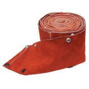 Best Welds Cable Cover with Snaps, 20 ft x 3 in, Small, Leather, 1 EA, #2038CC