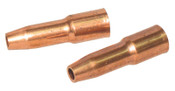 Best Welds 23 Series Nozzles, 3/8 in Bore, 1/8 in Recess, Self-Insulated, 2 EA, #2337