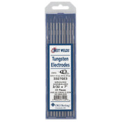 Best Welds E3 Tungsten Electrodes, 3/32 in Dia., 7 in Long, 1 PK, #3330000