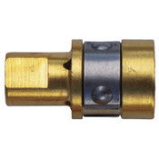 Best Welds Gas Diffusers, Brass, For Tregaskiss Style Mig Guns, 5 EA, #40413