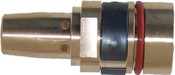 Best Welds Gas Diffusers, Retaining Head, Brass, For Tregaskiss Style Mig Guns, 5 PK, #4043
