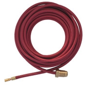 Best Welds Power Cables, For 18 Torches, 12 1/2 ft, Nylon Braided Rubber Hose, 1 EA