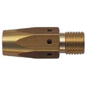 Best Welds Gas Diffusers, Brass, For Bernard MIG Guns & 1500 Series Contact Tips, 200-300A, 5 PK, #4235