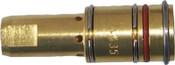 Best Welds Gas Diffusers, Brass, For Bernard MIG Guns & 7400 Series Contact Tips, 400-600A, 1 EA, #4435