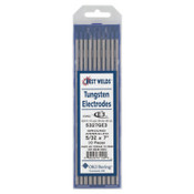 Best Welds E3 Tungsten Electrodes, 5/32 in Dia., 7 in Long, 1 PK, #5330000