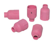"Best Welds Alumina Nozzle TIG Cup, 1/2"", Sz 8, For Torch 9, 12, 17, 18, 20, 22, 25, 26, 27, 1 EA, #57N74"