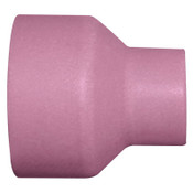 Best Welds Alumina Nozzle TIG Cups, 1/2 in, Size 8, Large Gas Lens, 2 3/4 in, 10 EA, #57N74L