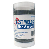Best Welds Rap-Arounds, Large, 4 in x 9 ft, Abrasion & Heat Resistant, 1 EA, #RA179