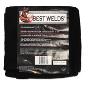 Best Welds Welding Blankets, 3 ft x 3 ft, Carbon Fiber, Black, 16 oz, 1 EA, #1800CFM163X3