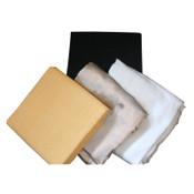Best Welds Welding Blankets, 3 ft X 3 ft, Silica, Yellow, 18 oz, 12 EA, #1800S183x3