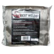 Best Welds Welding Blankets, 6 ft X 6 ft, Silica, Yellow, 18 oz, 1 EA, #1800S186X6