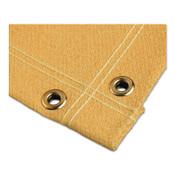 BEST WELDS Welding Blankets, 8 ft x 8 ft, Fiberglass, Yellow, 1 EA, #AC2300248X8