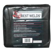 Best Welds Welding Blankets, 8 ft X 6 ft, Fiberglass, Yellow, 1 EA, #VCF2500246X8