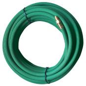 """Best Welds Grade R Green Single Line Welding Hose Kit w/Inert Gas Fitting (IGF), 3/8"""", 50ft, 1 EA, #38X2GRN50IGF"""