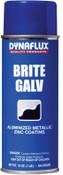 Dynaflux Ultra Brand Bright Zinc Galvanizing, 16 oz Aerosol Can, 1 EA, #DF30516