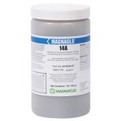 Magnaflux Magnaglo 14A Wet Method Fluorescent Magnetic Particles, 1 lb, Brown, 1 EA