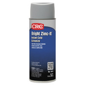 CRC Bright Zinc-It Instant Cold Galvanize, 16 oz Aerosol Can, 12 CAN, #18414