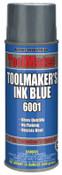 Aervoe Industries TOOLMAKERS INK BLUE, 12 CAN, #6001