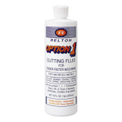 Relton Option 1 Metal Cutting Fluids, 1 pt, Bottle, 12 CAN, #PNTOP