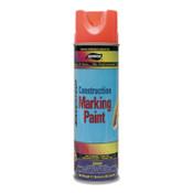 Aervoe Industries Construction Marking Paints, 20 oz , Yellow, 12 CS, #252