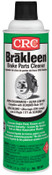 CRC Brakleen Non-Chlorinated Brake Parts Cleaners, 14 oz Aerosol Can, Very Low VOC, 12 CAN, #5151