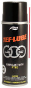 Aervoe Industries TEF-LUBE Multi-Purpose Wet Lubes, 11 oz, Aerosol Can, 12 CN, #937