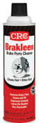 CRC Brakleen Brake Parts Cleaners, 20 oz Aerosol Can, 12 CAN, #5089
