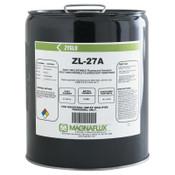 Magnaflux Zyglo ZL-27A Post Emulsifiable Fluorescent Penetrants, Pail, 5 gal, 1 EA, #1318740