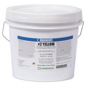 Magnaflux Magnavis Dry Method Non-Fluorescent Magnetic Powders, 45 lb, Pail, Yellow, 1 EA