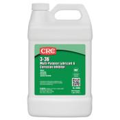 CRC 3-36 Multi-Purpose Lubricant & Corrosion Inhibitor, 1 Gallon Bottle, 4 GAL, #3006