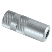Alemite Hydraulic Coupler w/Rubber Seal & Built-In Check Valve, 1/8 in, F/F, Blister Pk, 1 EA, #B308730