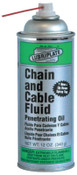 Lubriplate Chain & Cable Fluids, 12 oz Spray Can, 12 CN