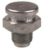 Alemite Button Head Fittings, Straight, 3/4 in, Male/Male, 1/8 in (PTF), 1 EA, #A1184