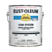 Rust-Oleum Industrial 1 Gal 5300 WB Epoxy Black Base, 2 CA