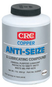 CRC Copper Anti-Seize Lubricants, 16 oz Brush Top Bottle, 12 CAN, #SL35903