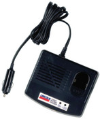 Lincoln Industrial 12V DC Field Charger for Use w/Battery Pack 1201 (Plugs Into Cigarette Lighter), 1 EA, #1215