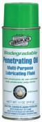 Lubriplate Biodegradable Penetrating Oils, 12 oz, Non Aerosol, 12 CN, #L0721063