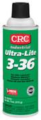 CRC Ultra-Lite 3-36 Lubricants, 16 oz Aerosol Can, 12 CAN, #3160