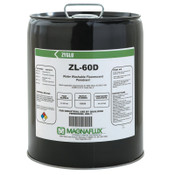 Magnaflux Zyglo ZL-60D Water Washable Fluorescent Penetrants, Liquid, Pail, 5 gal, 5 PAL