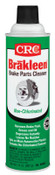 CRC Brakleen Non-Chlorinated Brake Parts Cleaners, 14 oz Aerosol Can, 12 CAN, #5088